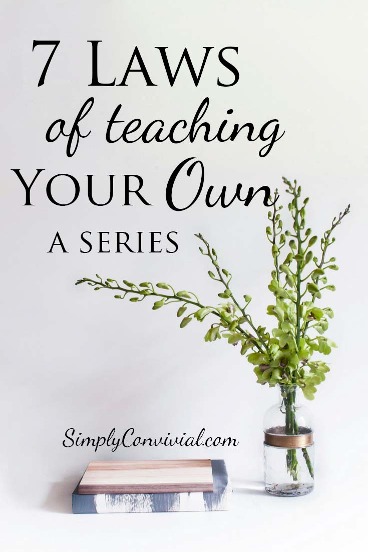 the seven laws of the teacher essay No law of life is more important in my life than the gift of giving  one of the most  suspenseful moments in my life was at seven years old  until i was standing in  a room full of small children with an extremely amiable second grade teacher.