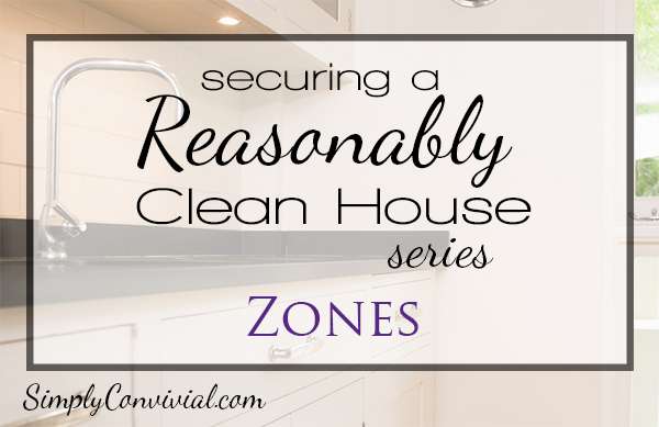 Securing a Reasonably Clean Home: Zones