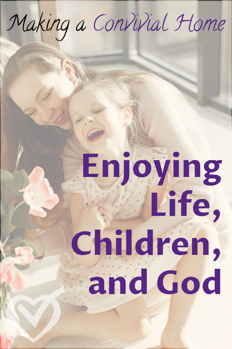 We are meant to be enjoying life alongside our children. What do we do when lose sight of that and view their needing us as interruptions?