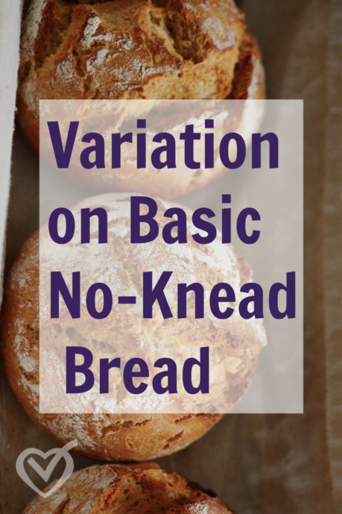 Easy Recipe Variations on Basic No-Knead Bread