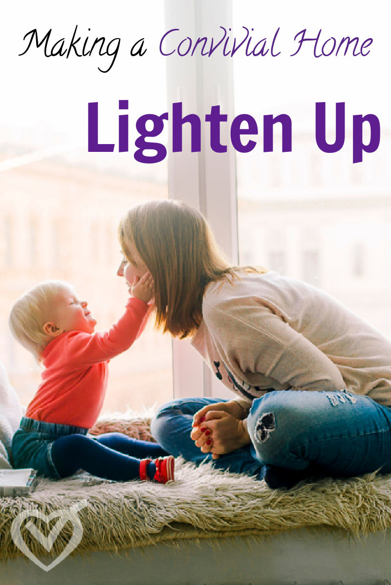 """Sometimes """"purposeful"""" and """"intentional"""" can turn into """"taking oneself too seriously."""" It is important to lighten up and enjoy our children."""