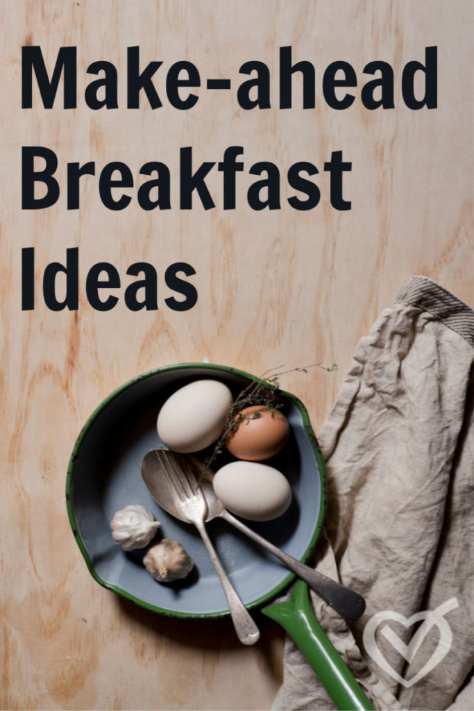 Guest Post: Make-Ahead Breakfast Ideas – Easy Recipes