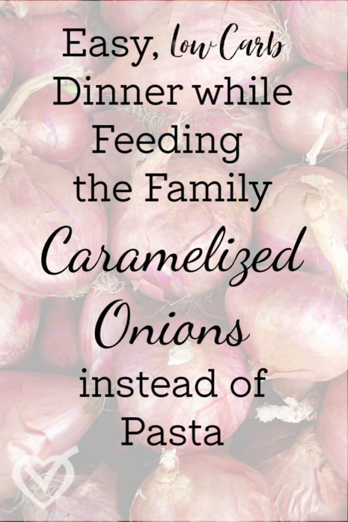 If you're tired of the usual low-carb substitutes, give caramelized onions a try under your favorite pasta sauce. They lend an amazing flavor to your dish.