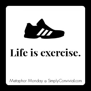Monday Metaphor: Life is Exercise