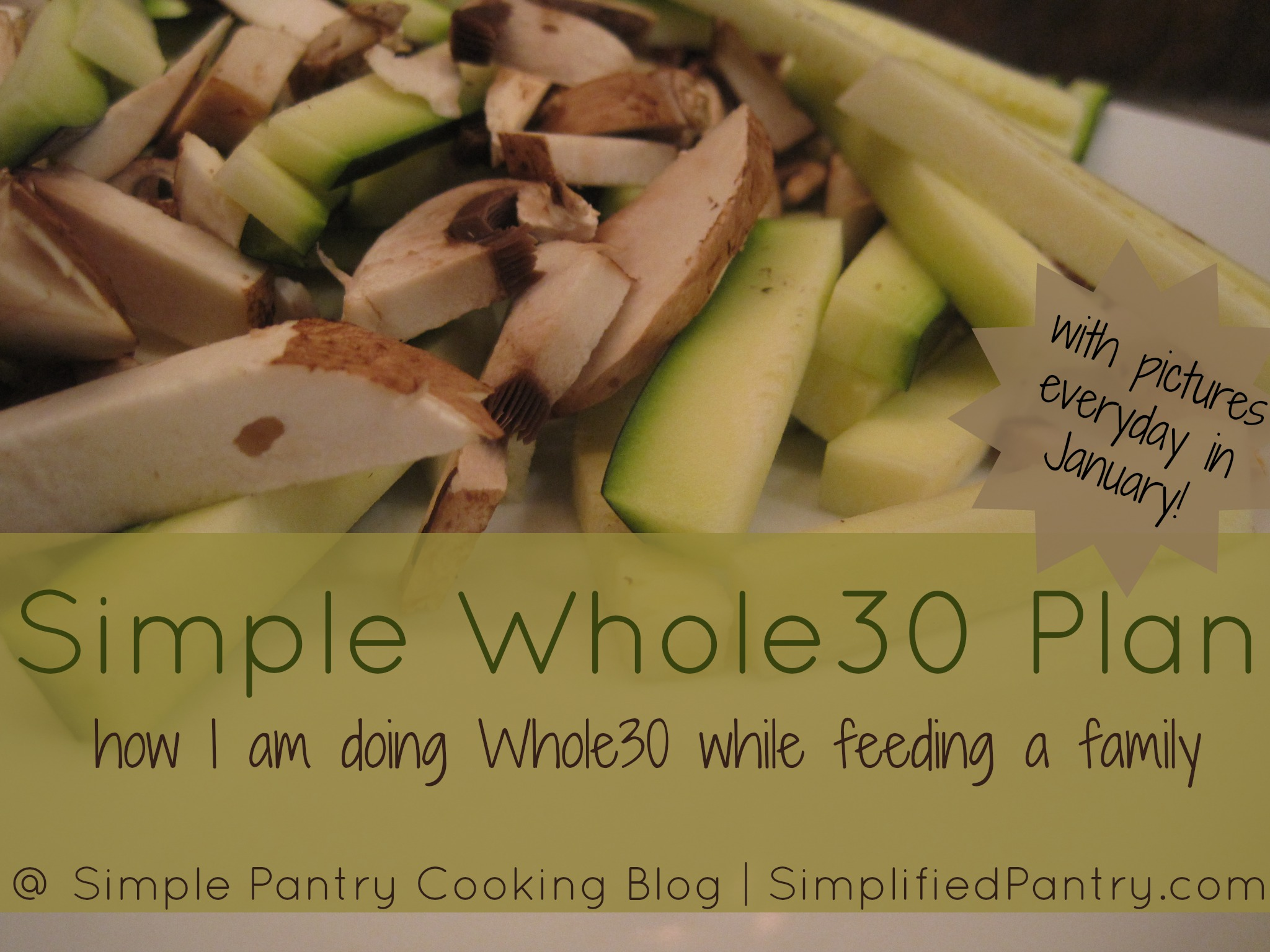 Simple Whole30 Plan
