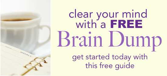 download your free brain dump guide!