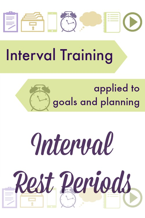 Interval training isn't just for physical exercise. Learn how you can apply intervals to goal setting in all areas of life.