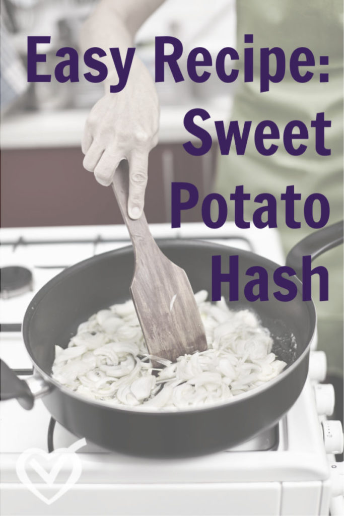 Easy Recipe Dinner Ideas: Sweet Potato Hash