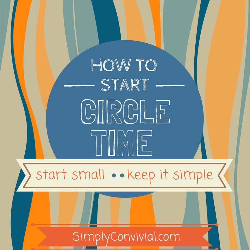 How to Start Circle Time in Your Homeschool