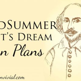 Lesson Plans for A Midsummer Night's Dream