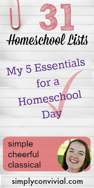 What makes a homeschool day count? Here's my list.