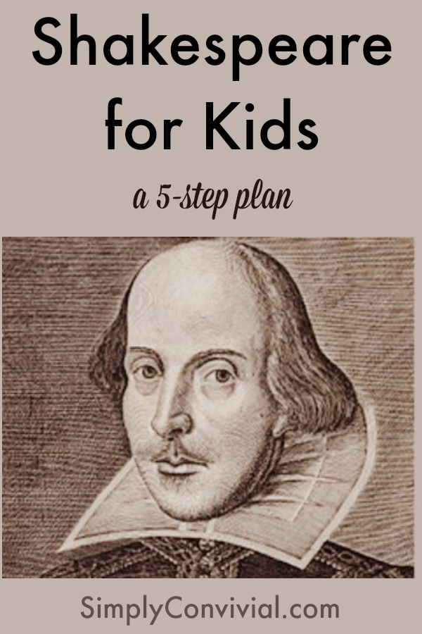 Learn to love Shakespeare alongside your kids.