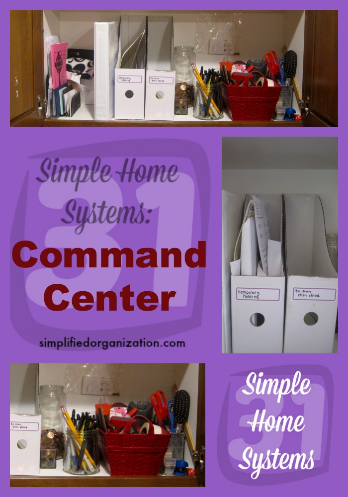 Don't lose those little pieces of life you need every day. Keep the essentials in a command center to stay organized and on top of things.