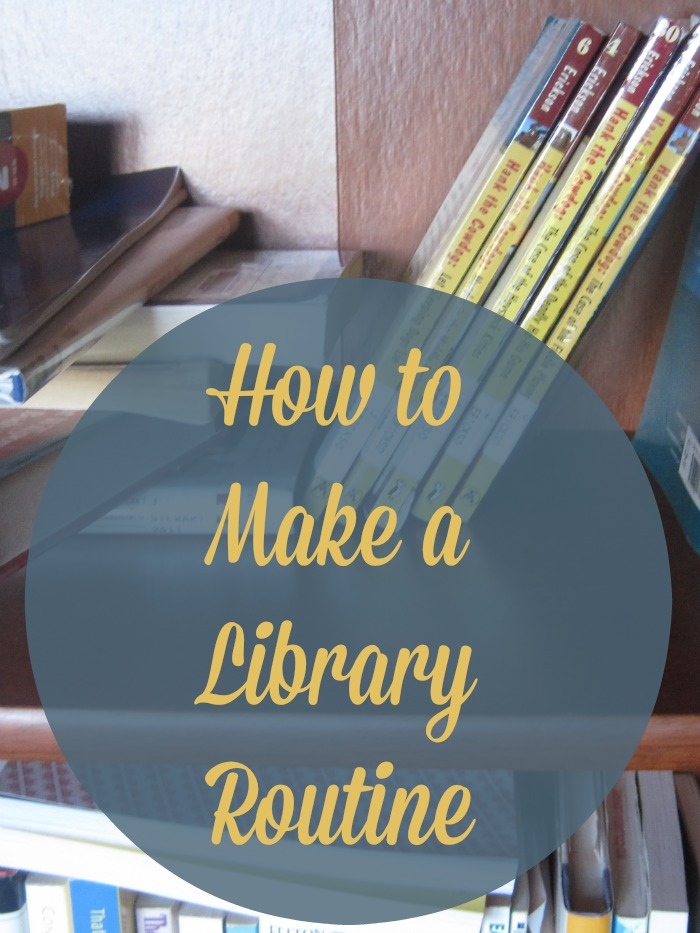 Are you losing library books or forgetting due dates? Creating a simply library routine can keep this aspect of life in line. No more fees!