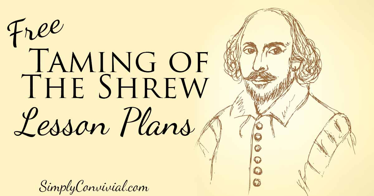 Shakespeare for Kids: Taming of the Shrew » Simply Convivial