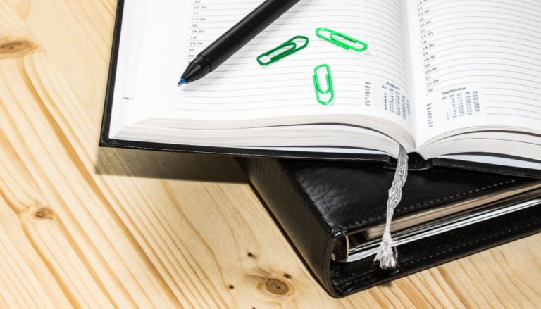 Using a Planner to Stay Organized – without wasting time