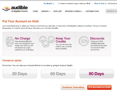audible-membership-hold