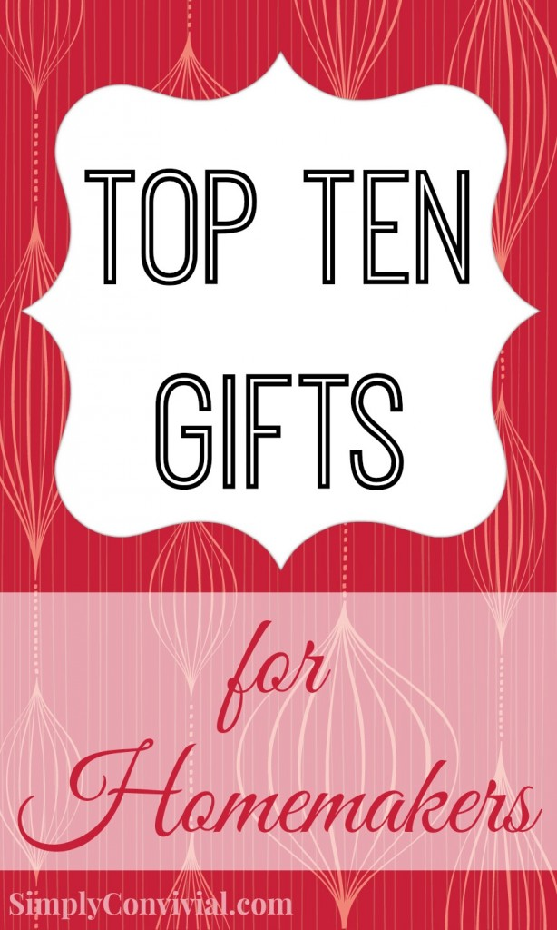 Top 10 Gift Ideas for Homemakers