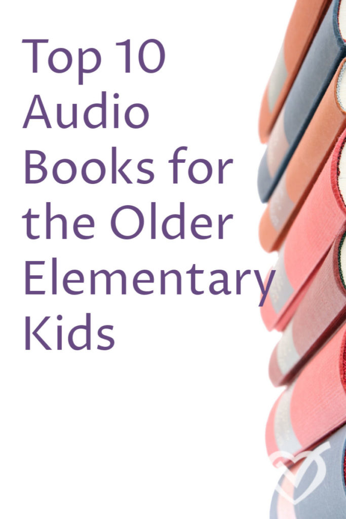 Top 10 Audio Books for the Older Elementary Kids