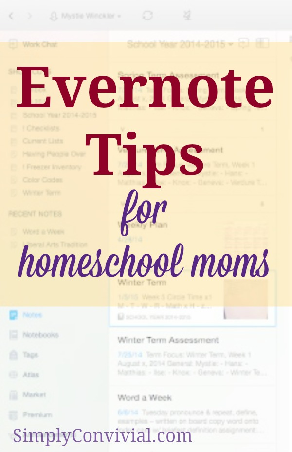 "Next week we'll start delving into actually nitty-gritty homeschooling planning and record keeping with Evernote, but first I want to cover a few more random ""power user"" sort of tips to make sure your Evernote usage is faster and less frustrating"