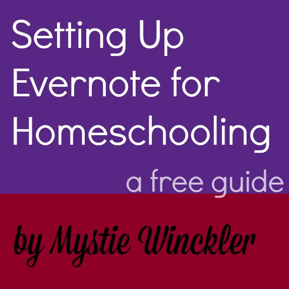 evernote for homeschooling guide