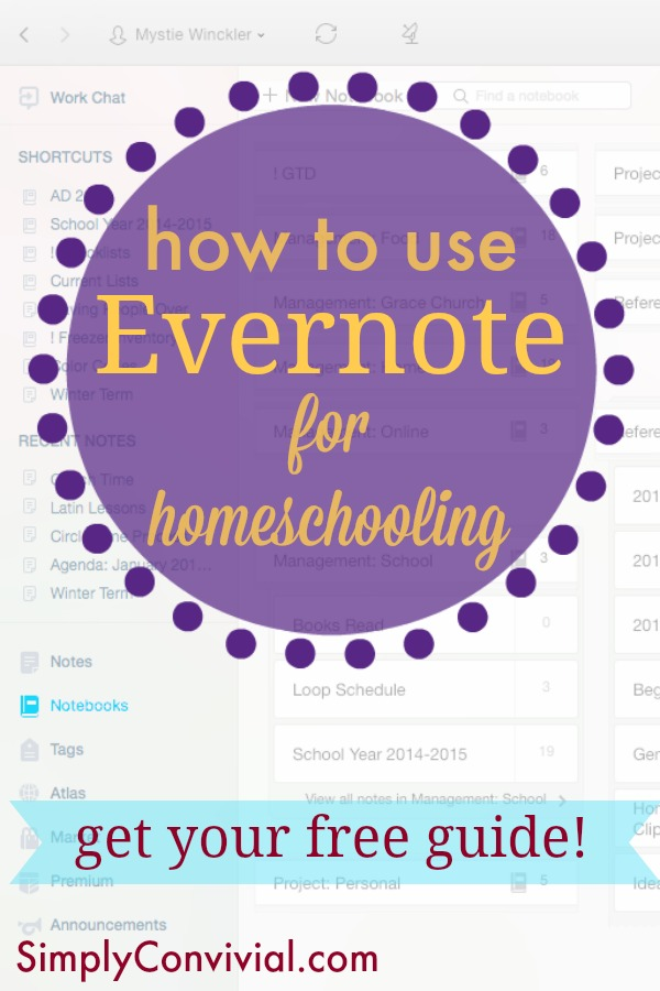 How to Use Evernote for Homeschooling