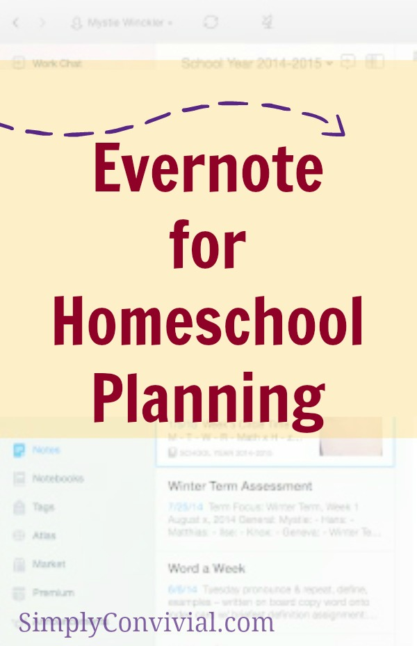 evernote-homeschool-planning