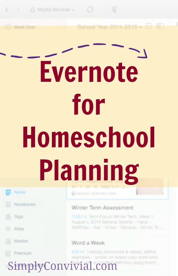 evernote-homeschool-planning