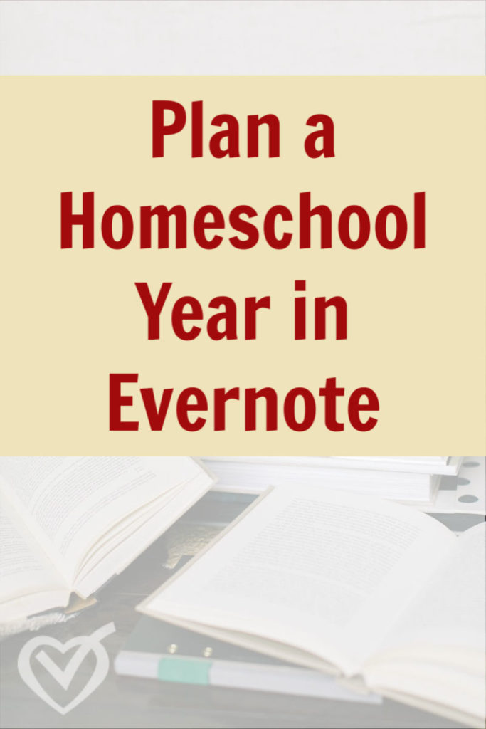 Planning a homeschool year means managing and coordinating a lot of moving pieces. Follow along as I show you how I plan a homeschool year in Evernote.