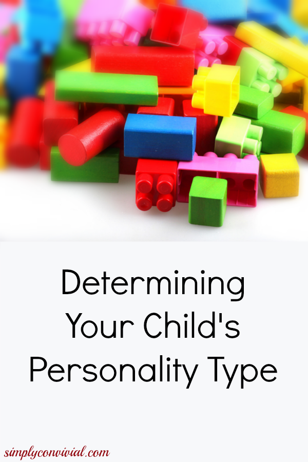 Know Your Child's Personality Type