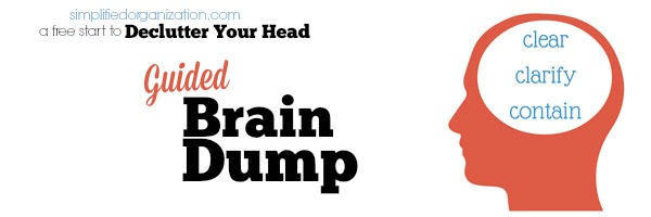 What to do with your brain dump list
