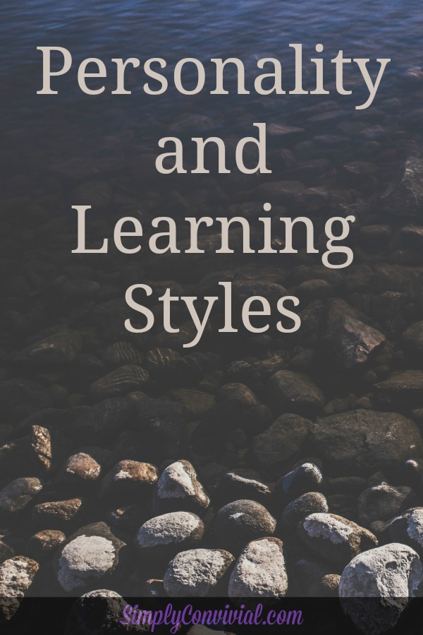 personality and learning styles