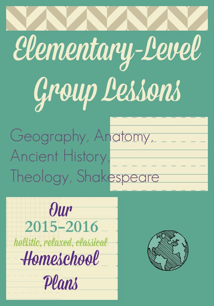 2015-2016 Elementary Group Lessons | Simply Convivial