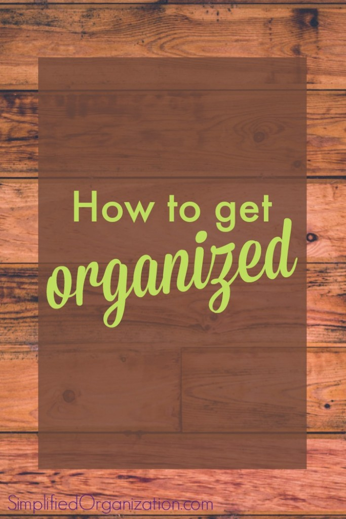 Learn how to get organized by learning what organization is in the first place. Get organized in real life – it's not about matching containers.