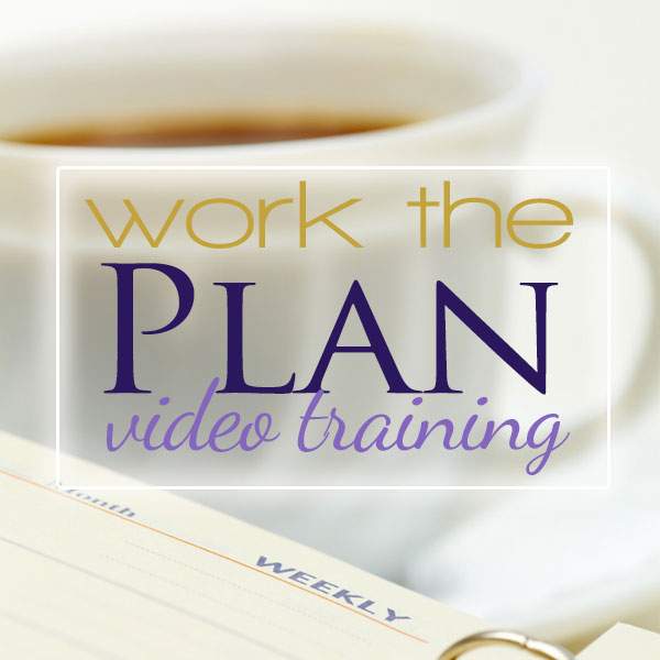 Work the Plan Video Training