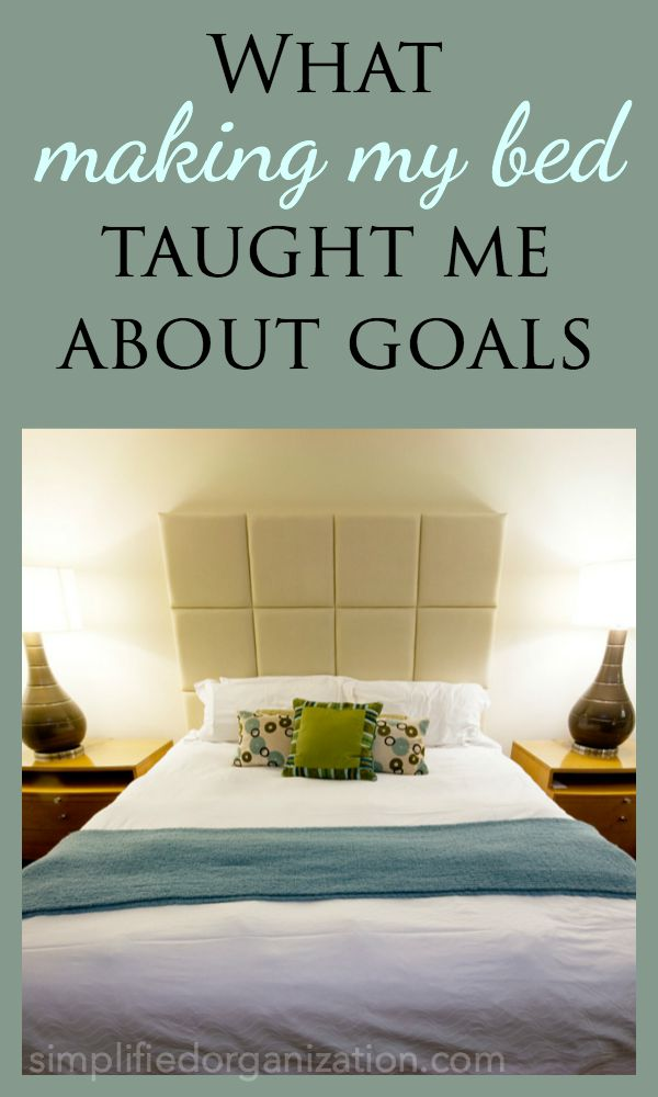 Learning to make my bed was a huge milestone and turning point for me in my homemaking journey. Why I was making my bed made all the difference. If you want to learn this habit, this tip will make it possible.