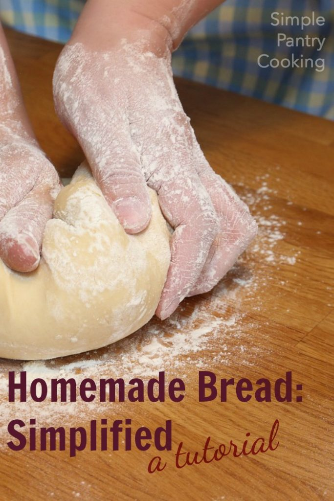 How to make homemade bread, the easy way and an Easy Recipe