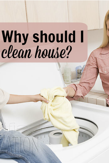 Are you a homemaker? To make a home, we have to keep a house. It's a bummer, but working toward clean house is a part of that. Cleaning the house is transformative in a number of ways.