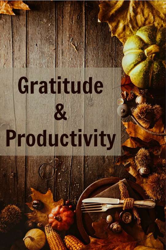 Why do we do what we do? Gratitude is the most powerful motivator we can have as we seek to get things done.