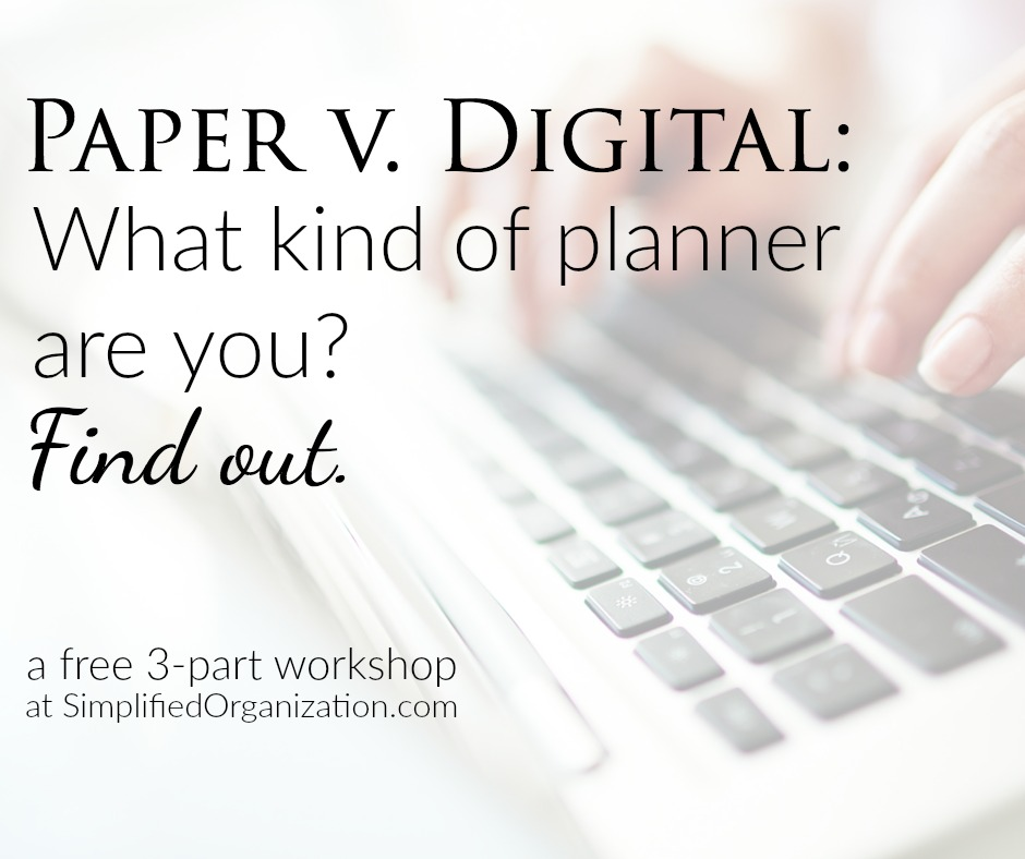 Paper v Digital Planning Workshop