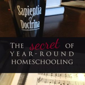 The Secret of Year-Round Homeschooling