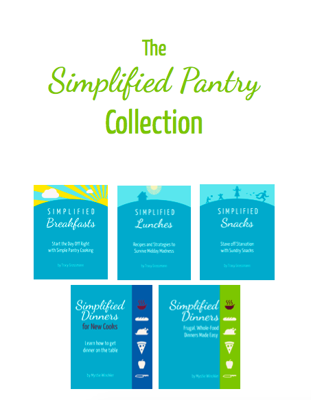 Simplify all the meals! This bundle includes Simplified Breakfasts