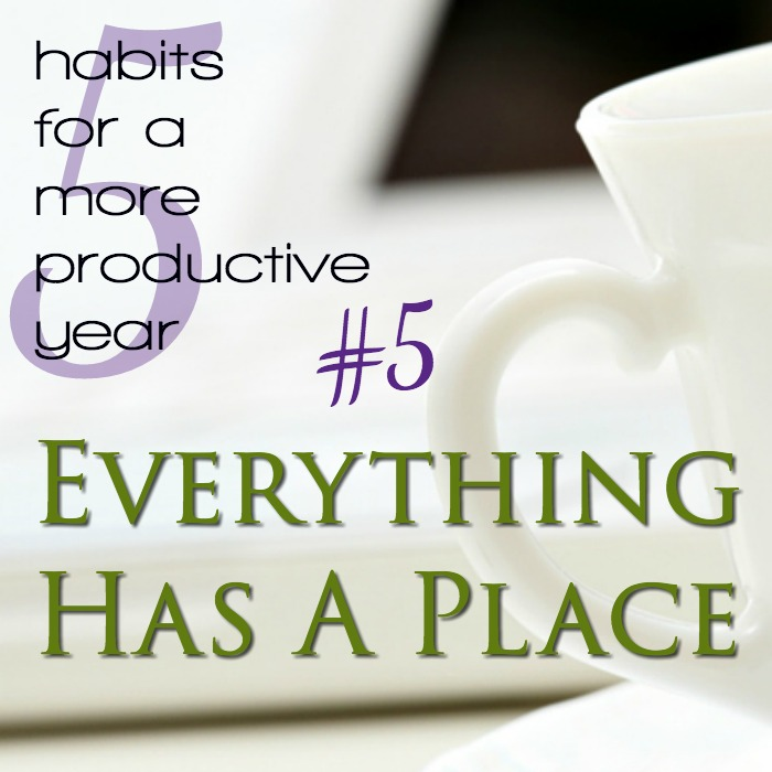 Everything Has a Place. Or does it? Why it matters!