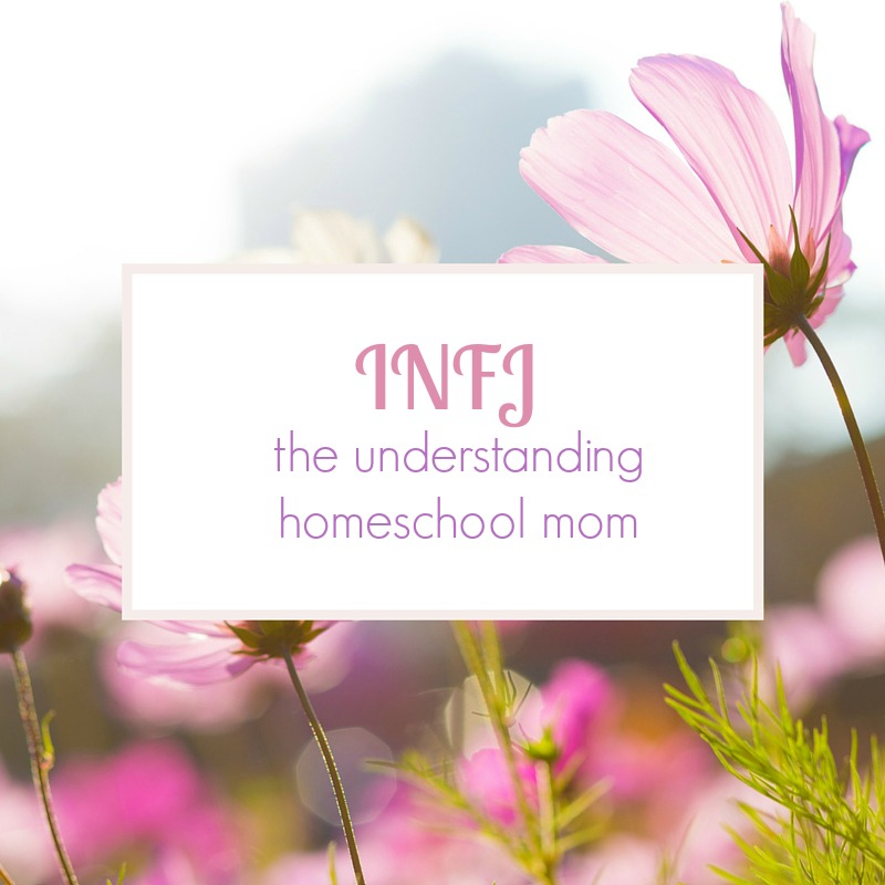 INFJ - the understanding homeschool mom. An INFJ homeschools to provide her children a safe, loving, understanding home environment. Knowing your homeschool personality helps you shed guilt and find the homeschooling lifestyle that fits you best.