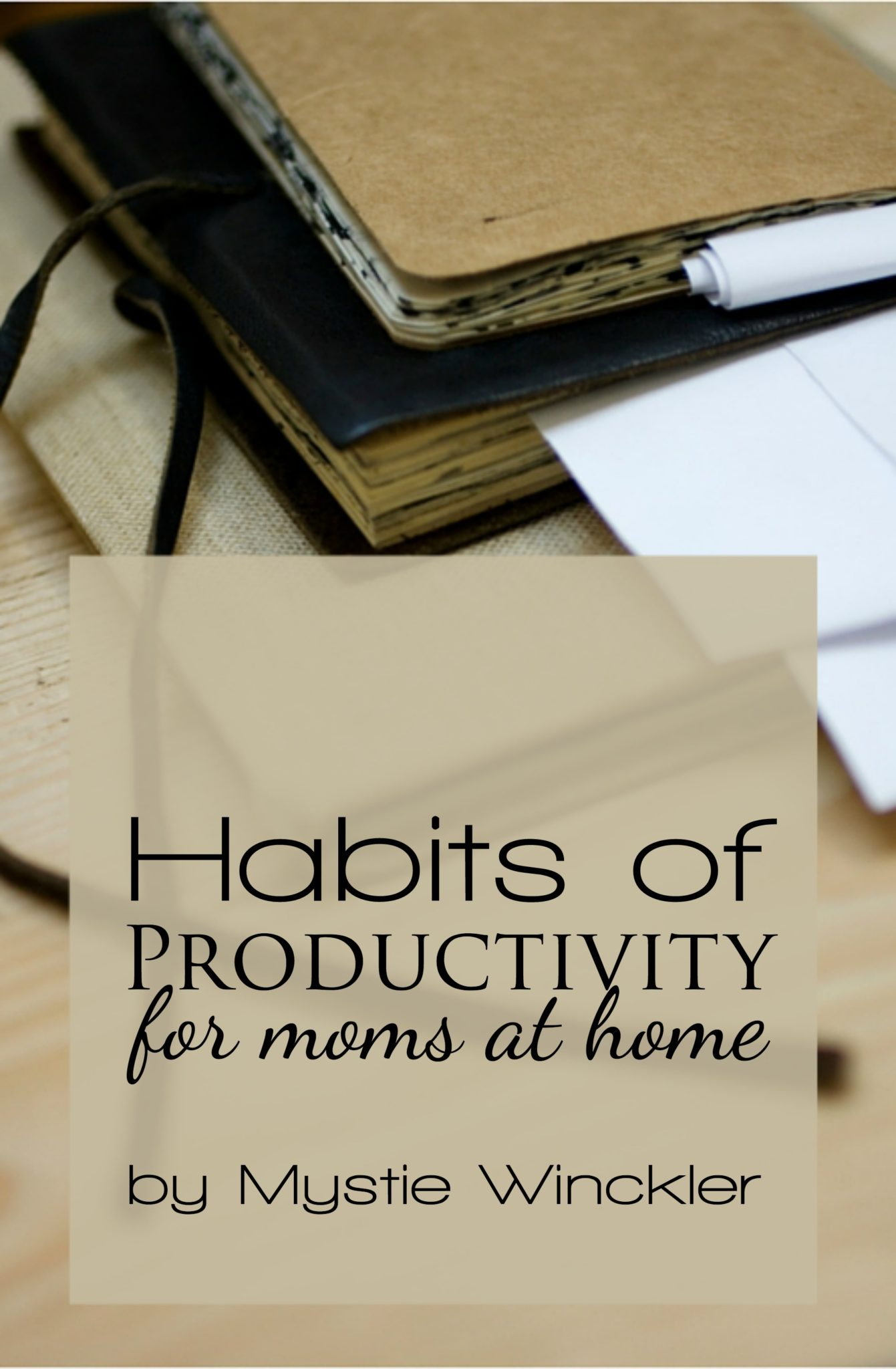 Moms have a lot of details to manage and many tasks to do. Here are three productivity hacks that help me get more done.