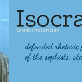 Learning requires the language arts – Isocrates on education