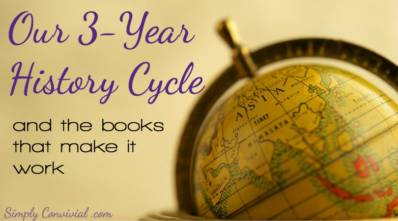 Our 3 Year History Cycle & the books that make it work