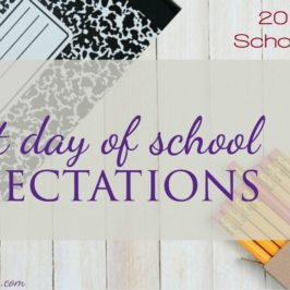3 Tips for the First Day of School
