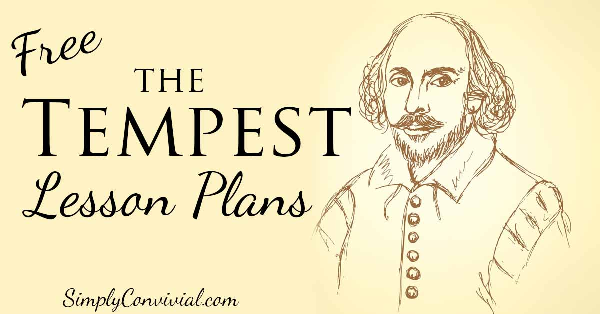 Shakespeare's The Tempest resources and lesson plans to help kids fall in love with Shakespeare and enjoy this fun, magical play!