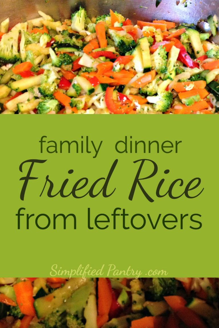 "Fried Rice Family Dinner, a home cooking ""easy recipe"""